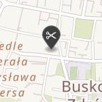 Cztery Łapki na mapie