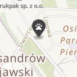 Sklep Zoologiczny na mapie