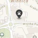 Gryfonik na mapie