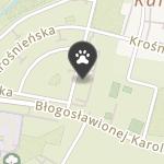 Pawik na mapie