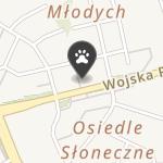 Koci Pazur na mapie