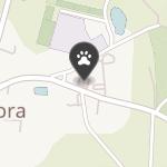 """Centrum Zoologiczne Łapa """"Dobra"""" na mapie"""